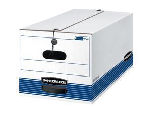 "Fellowes Storage Boxes String/Button Ltr 500 lb 12""x24""x10"" 20/CT WE 0070409"