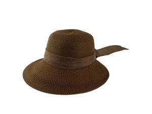 Compare. Ladies Women Straw Decor Wide Brim Sun Cap ... 5c2e5b30fad7