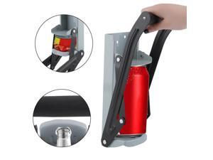 2PCS Can Crusher Large 16oz Aluminum Soda Beer Built-In Bottle Opener Wall Mounted Recycling Crushes Cans Device
