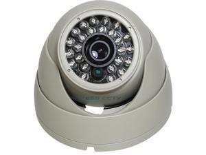 XIB-2022-W HD-SDI 1080p EYEBALL Infrared Dome Camera, 1080p 2 MP, 4.3mm, 25 IR LED, ICR, White