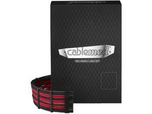CableMod C-Series PRO ModFlex Cable Kit for Corsair RMi/RMX/RM (Black Label) - Black/RED [cm-PCSR-FKIT-KKR-R]