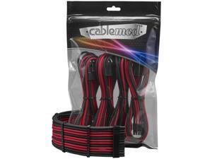 CableMod PRO ModFlex Cable Extension Kit - 8+6 Series - Black/Red [CM-PCAB-BKIT-86KKR-3PK-R]