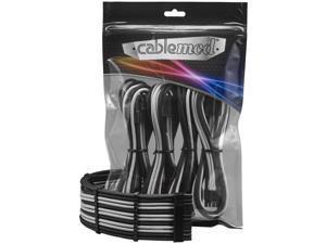 CableMod PRO ModFlex Cable Extension Kit - 8+6 Series - Black/Silver [CM-PCAB-BKIT-86KKS-3PK-R]