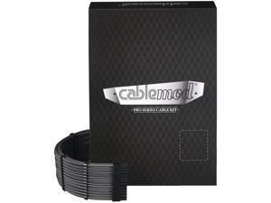CableMod RT-Series PRO ModMesh Cable Kit for ASUS and Seasonic - Carbon [cm-PRTS-FKIT-NKC-R]