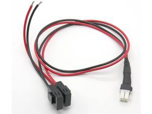 30A 1M Fuse 4 PIN Short Wave Power Supply Cord Cable for ICOM IC-7000 FT450 FT950