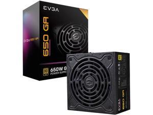 EVGA SuperNOVA 650 Ga, 80 Plus Gold 650W, Fully Modular, ECO Mode with Dbb Fan, 10 Year Warranty, Compact 150mm Size, Power Supply 220-GA-0650-X1