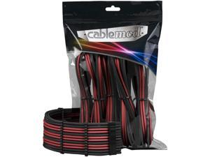 CableMod PRO ModMesh Cable Extension Kit - Carbon/RED