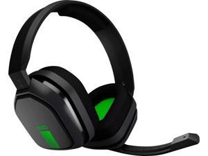 ASTRO Gaming A10 Headset for Xbox One/Nintendo Switch / PS4 / PC and Mac - Wired 3.5mm and Boom Mic by Logitech - Eco-Friendly Packaging - (Green/Black)