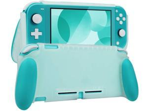 NA Protective Case for Nintendo Switch Lite, Grip Case Cover for Nintendo Switch Lite, Grip Cover in Silicone with Anti-Scratch and Shock-Absorption Soft TPU (Grip Case, Turquoise)