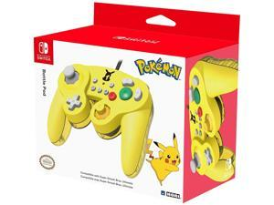 HORI Nintendo Switch Battle Pad (Pikachu) Gamecube Style Controller - Nintendo Switch