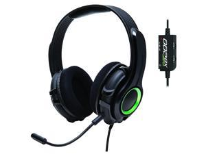 GamesterGear Cruiser XB200 Stereo Gaming Headset with Detachable Boom Mic for Xbox 360