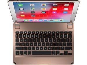 Brydge 10.5 Keyboard for iPad Air (2019), Aluminum Bluetooth 4.2 Keyboard with Backlit Keys (Gold)