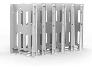 """Yottamaster 6 Pack Hard Drive Mounting Bracket Hard Disk Caddy SSD HDD Tray Hard Disk Drive Bays Holder Compatible with 2.5"""" & 3.5"""" Hard Drive Profession Series …"""