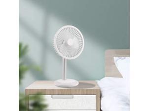 ceng-AIO Portable Fan, USB Charging Portable Fan Ultra-Quiet Shaking Head Fan with LED Colorful Light