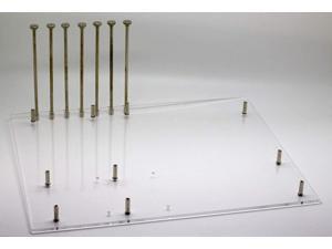 BattleBorn Acrylic Test Bench Case for ATX/mATX Motherboard