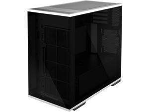 SilverStone Technology SST-LD01B Micro-ATX Computer Case with Three Tempered Glass Panels and Stainless Steel Accents