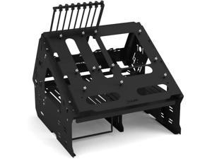 Praxis WetbenchSX Open Air Computer Test Bench Basic - Angled Edition - Black
