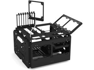 Praxis WetbenchSX Open Air Computer Test Bench Pro - Flat Edition - Black - Black
