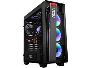 Azza CSAZ-270 Obsidian MID-Tower CASE W/Digital RGB Fans