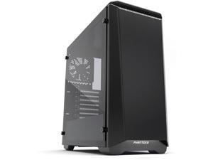 Phanteks PH-EC416PSTG_BW Eclipse P400S Silent Edition with Tempered Glass, Black/White Cases