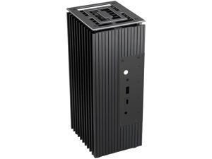 Akasa Turing FX   Intel 10th Gen NUC (Frost Canyon)   PC Fanless Cooling Case   Aluminium   Internal M.2 SSD Heatsink   A-NUC52-M1B