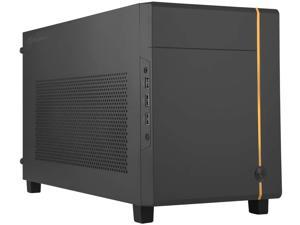 SilverStone Technology SUGO 14, SG14, Black, Mini-ITX Cube Chassis, Supports 3 Slot Full Length GPUs / ATX PSU / 240mm AIO, 4 Removable Panels, SST-SG14B