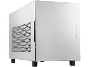 Silverstone SUGO 15, SG15, Silver, Mini-ITX, Aluminum, Supports 3 Slot Full Length GPUs / ATX PSU / 240mm AIO, USB Type-C x 1, SST-SG15S
