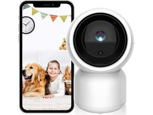 Pet Camera, Security Camera ISEEUSEE 1080P Baby Monitor Cam HD with Sound Motion Detection 2-Way Audio,Pan/Tilt/Zoom WiFi Surveillance Camera,Wireless Home Baby Cam with Night Vision