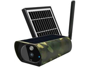 WiFi Solar Power IP Camera Wireless Outdoor Indoor Waterproof 1080P Night Vision APP Remote Monitor Security Surveillance Camera