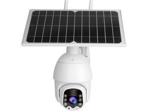 DAUERHAFT Night Vision PTZ Camera HD Surveillance, for Hotel, for Home Safety Protection System, for Villas(European Frequency Band)