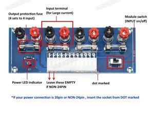 ModMyMods ATX Power Supply Breakout Board (MOD-0303)
