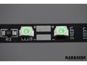 """DarkSide 7.75"""" CONNECT Dimmable Rigid LED Strip - Green (DS-0313)"""