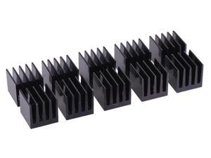 Alphacool GPU Heatsink 15 x 15 x 15mm | Black - 10 Pack (17155)