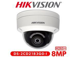 Hikvision 4K IP Security Camera DS-2CD2183G0-I 8MP Outdoor Network Dome Camera with 2.8mm Lens