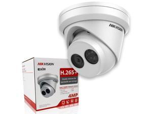 Hikvision Camera DS-2CD2343G0-I 4 Megapixel 4.0mm Lens New H.265+ 4MP IP Turret EXIR Fixed True WDR Network Camera, English Version, Replacement Model for DS-2CD2342WD-I