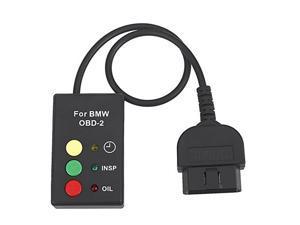 bmw service light reset via obd2 RESET TAGLIANDO Oil Inspection OBD2 OBDII Oil Service Reset Tool for BMW E39 E46 E50 E52 E53 Mini E38 X5 Z4