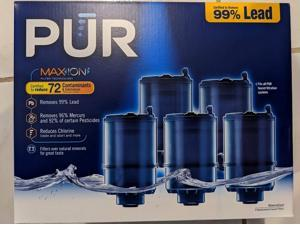 PUR Mineral Clear Faucet Mount Replacement Filter with MaxIon Technology, 5 pk.