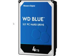 WD Blue 4TB Desktop Hard Disk Drive - 5400 RPM SATA 6Gb/s 256MB Cache 3.5 Inch - WD40EZAZ