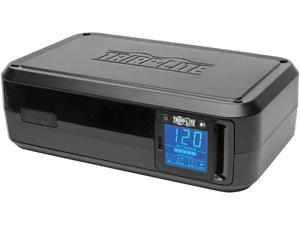 Tripp Lite 1000VA Smart UPS Battery Back Up, 500W Tower, 8 Outlets, LCD Display, AVR, USB, Tel / DSL / Coax Protection, 3 Year Warranty & $250,000 Insurance (SMART1000LCD) Black