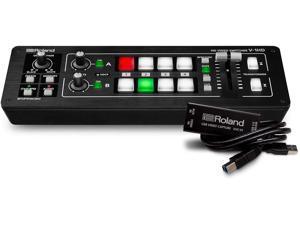 Roland V-1HD STR Video Switcher Web Streaming Bundle + UVC-01