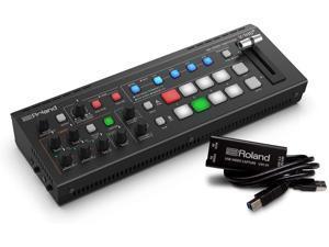 Roland V-1HD+ STR Video Switcher Web Streaming Bundle and UVC-01