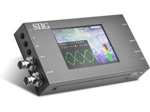 SIIG SDI to HDMI Converter with Scaler and Monitor, SDI Loop-Out, 1080p 3G/HD/SD-SDI to HDMI, 3.5mm Audio, Eye Pattern, Test Pattern, TAA Compliant, ESD Protection, Metal housing (CE-SD0J11-S1)