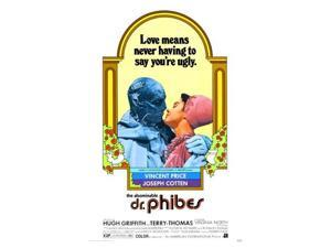 28cm x43cm Abominable Dr Phibes Movie 11x17 Mini Poster