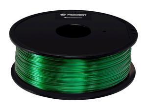 Monoprice Premium 3D Printer Filament - 1kg/Spool - Green | PETG, 1.75mm