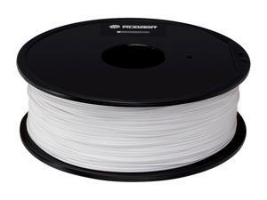 Monoprice Premium 3D Printer Filament PETG - White, 1kg Spool, 1.75mm Thick, FDA Food Grade, For Utensils & Dishware, For All PETG Compatible Printers