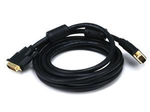 Monoprice 10ft 28AWG CL2 Dual Link DVI-D Cable - Black