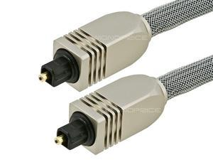 Monoprice 3ft Premium Optical Toslink Cable w/ Metal Fancy Connectors