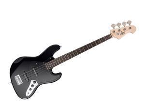 Monoprice Indio Jamm Bass - Black, With Protective Gig Bag