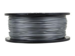 Monoprice Premium 3D Printer Filament PLA 1.75mm 1kg/spool  Silver