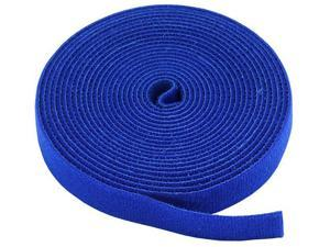 Monoprice Hook & Loop Fastening Tape, 3/4-inch Wide, 5 yards/Roll - Blue